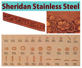 Sheridan Stainless Steel Stamps