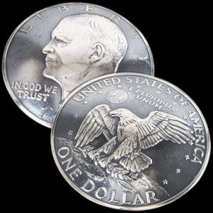 Old Eisenhower Dollar