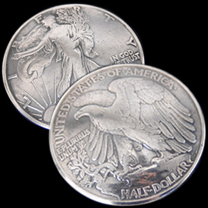 Old Walking Liberty Half Dollar