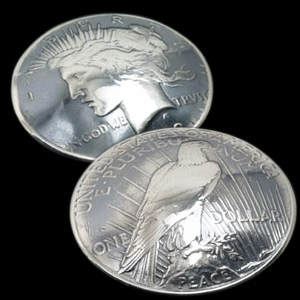 Old Silver Peace Dollar
