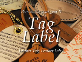 Leather Tag / Leather Label