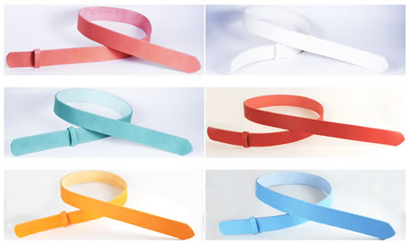 Color Leather Belts