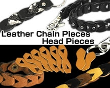 Leather Chain Piece Head Pieces