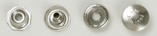 Pull the Dot Snap Fasteners