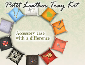 Petit Leather Tray Kit