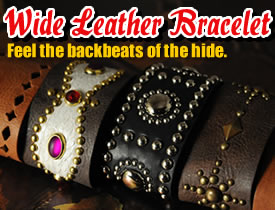 Wide Leather Bracelet Kit
