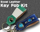 Excel Leather Key Fob Kit