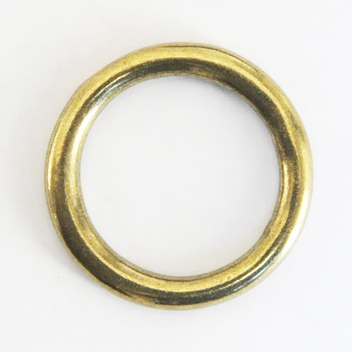 Cast Round Ring Solid Brass