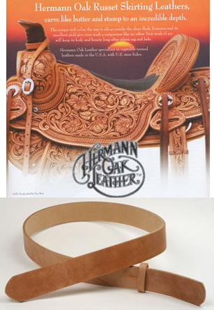 Hermann Oak Harness Leather Belts
