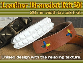 Leather Bracelet Kit 20