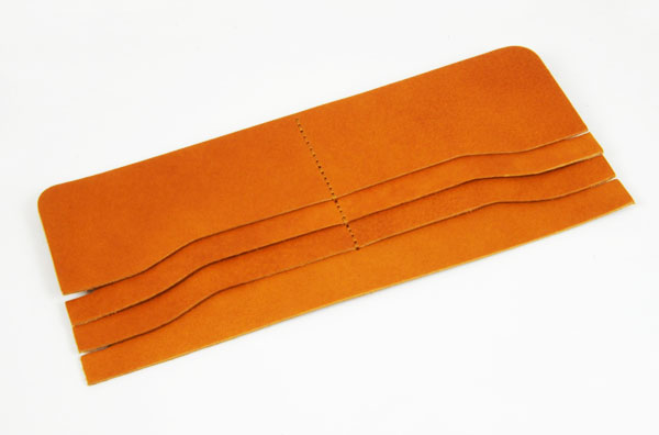 LC Long Wallet Semi Assembled Card Pockets - LC Tooling Leather Standard