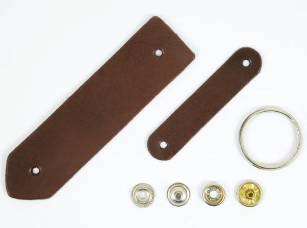 Bag Keychain Kit - LC Tooling Leather Standard