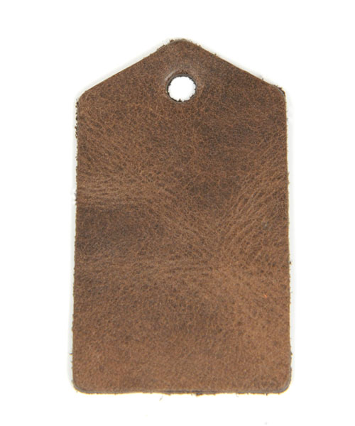 Leather Tag (Home Plate) - Mostro