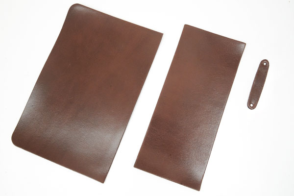 L-Zip Coin Wallet Kit - LC Leather Glazed Standard
