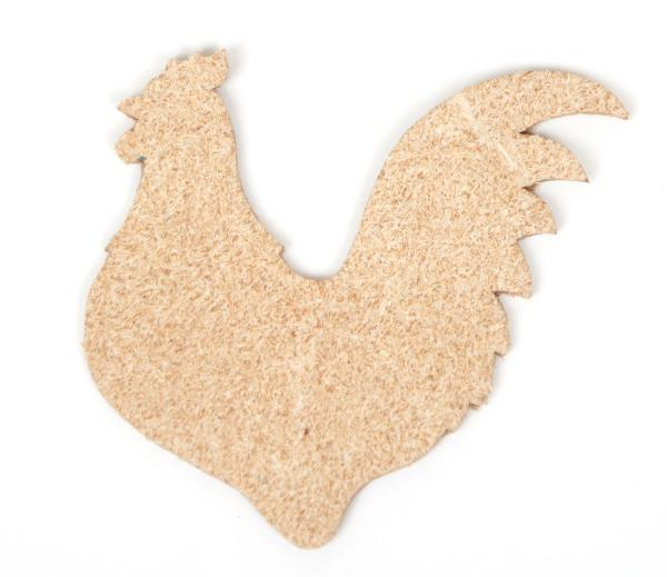 Bird Charm <Backing Charm> - Rooster (1pc)