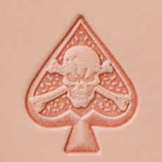 Pictorial Stamp ( Scull & spade )