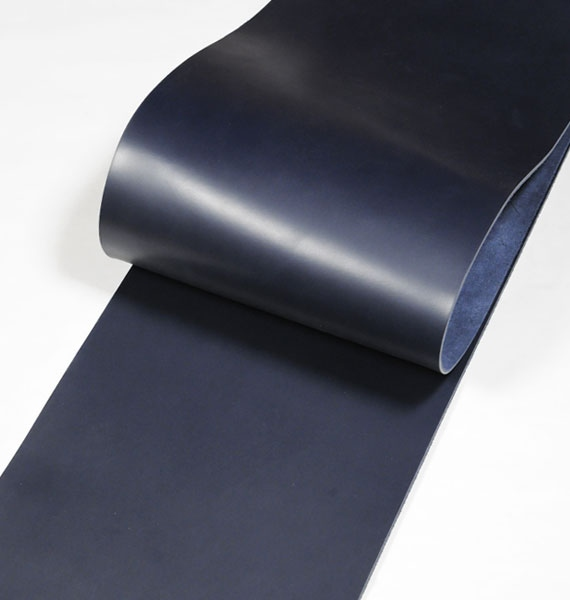 Leather cut in 30cm width, LC Premium Dyed Leather Struck Through <Navy>(28 sq dm)