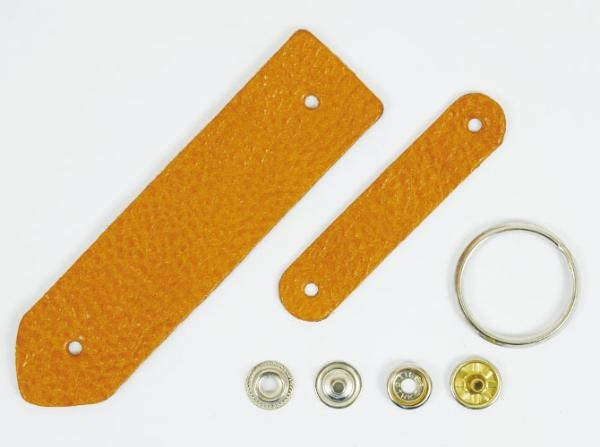 Bag Keychain Kit - Leather Gallo