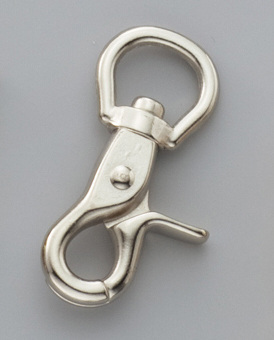 Swivel Latch Snap 21mm Nickel