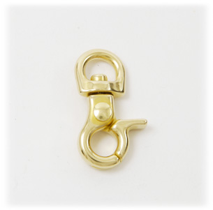 Brass Swivel Snap Hook 8 mm