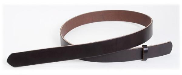 Hermann Oak Bend UK Bridle Leather Belt Blanks H105cm x W2.5cm