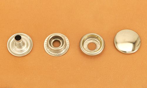 Snap Fastener - Nickel  - Long Post