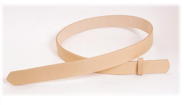 Hermann Oak Tooling Leather Belt Blanks H105cm x W3.5cm