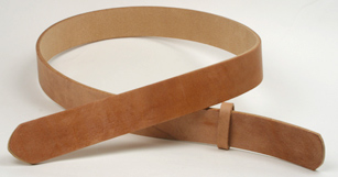 Hermann Oak Harness Leather Belt Blanks H130cm x W3.5cm