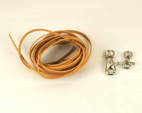 Wallet Rope Kit - Oiled Leather
