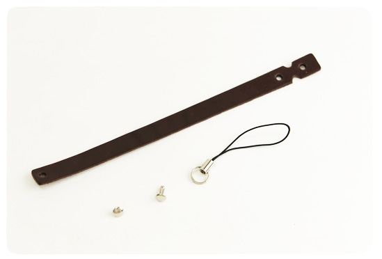 Leather Strap Loop Type no1 - LC Leather Glazed Standard