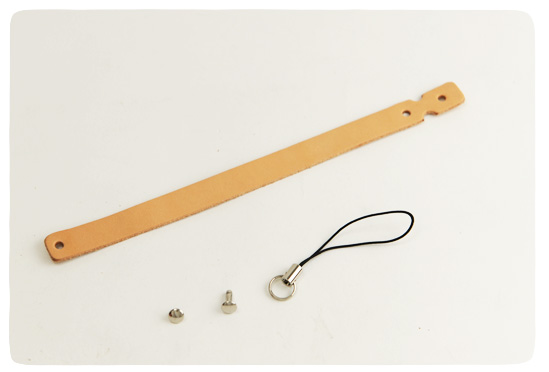 Leather Strap Loop Type -  Hermann Oak Tooling Leather