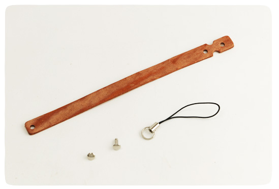 Leather Strap Loop Type -  Hermann Oak Harness Leather