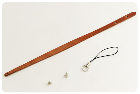 Leather Strap Kit ( type A ) - Hermann Oak Harness Leather