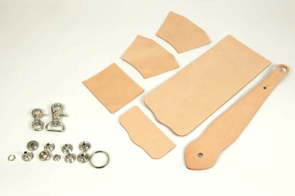 Key Fob Coincase Kit - Tooling Leather Himeji