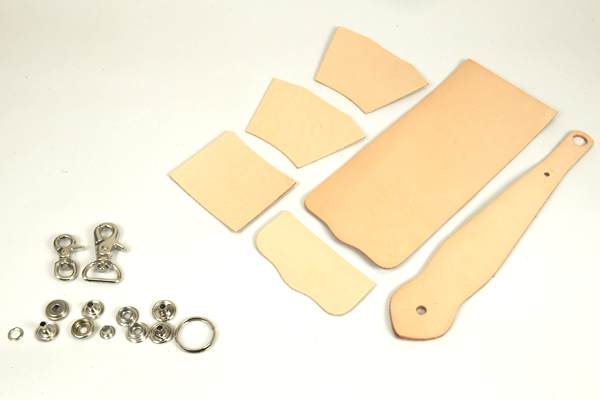 Key Fob Coincase Kit -  LC Tooling Leather Standard