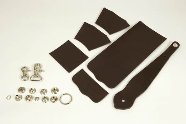 Key Fob Coincase Kit -  LC Leather Glazed Standard