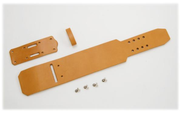 Wristband A2 Kit - Hermann Oak UK Bridle Leather