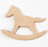 Fairy Tale Charm <Backing Charm> Rocking Horse
