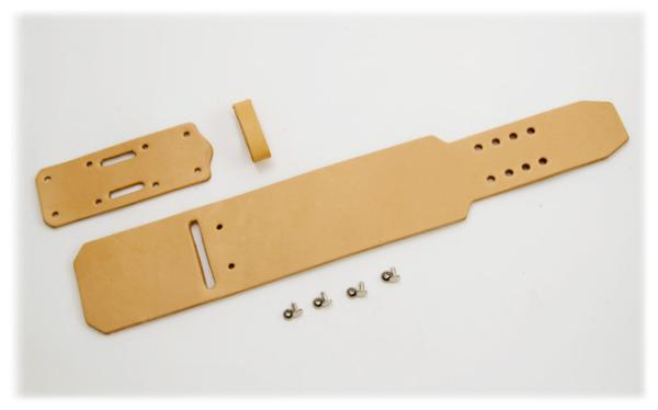 Wristband A2 Kit - Hermann Oak Tooling Leather