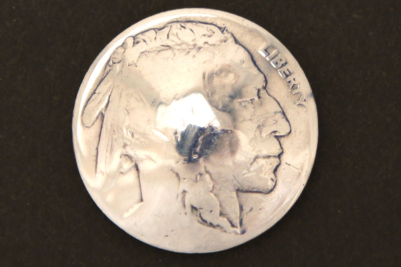 U.S. Nickel  Indian <Screw Back>