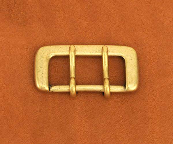 Strap Buckle Double Prong 35BR