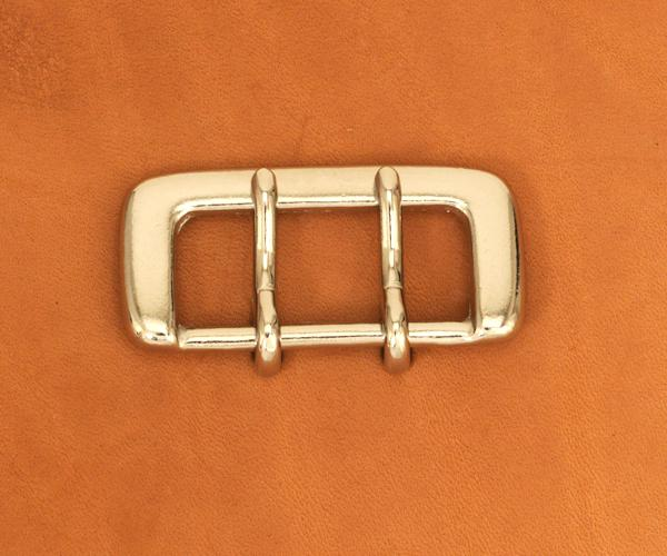 Strap Buckle Double Prong 35 Matte N