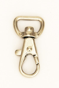 Swivel Snap Hook 12 mm Nickel