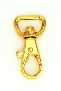 Swivel Snap Hook 12 mm Gold