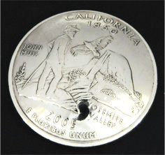 California State Quarter <Loop Back>