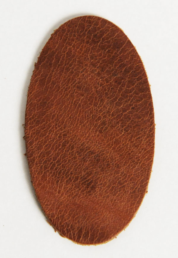 Leather Label (Oval Shape) - Mostro