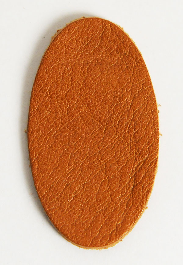 Leather Label (Oval Shape) - Gallo