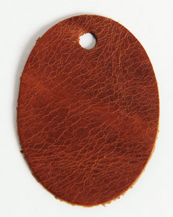 Leather Tag (Oval Shape) - Mostro