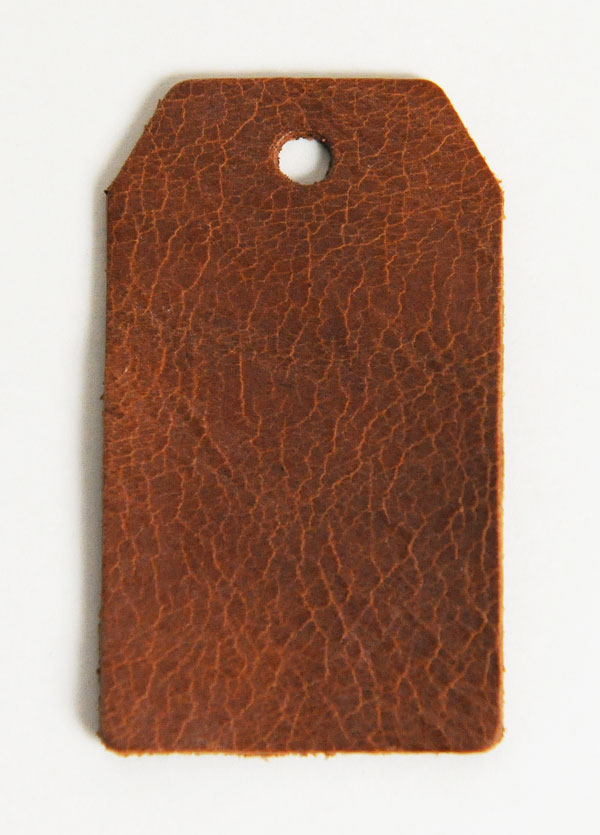 Leather Tag (Luggage Tag A) - Mostro