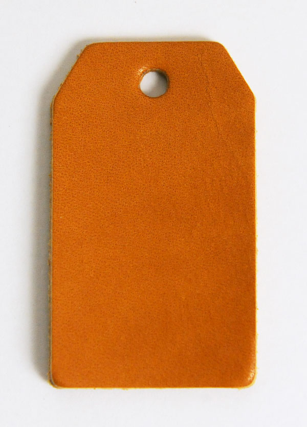 Leather Tag (Luggage Tag A) - Various Color Leather